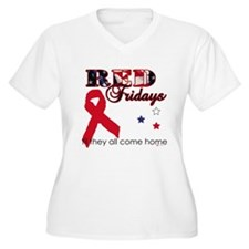 RED FRIDAYS Plus Size T-Shirt