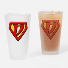 Super_D Drinking Glass