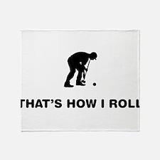 Croquet Throw Blanket