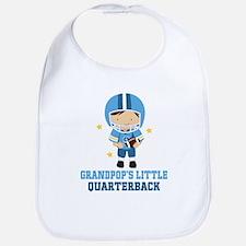 Grandpop Quarterback Bib