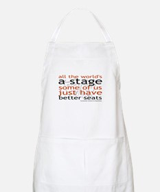 All the world's a stage  BBQ Apron