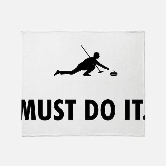 Curling Throw Blanket
