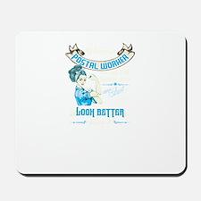 Women Postal Worker Mousepad