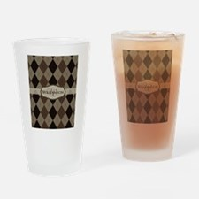 Unique Chocolate brown Drinking Glass