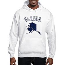 Alaska Map Design Hoodie