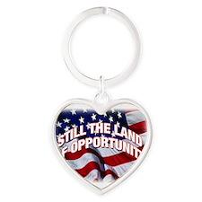 USA Flag Symbol Keychains