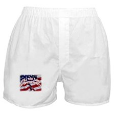 USA Flag Symbol Boxer Shorts