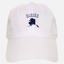 Alaska Map Design Baseball Baseball Baseball Cap