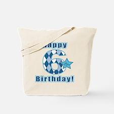 Happy 6th Birthday! Tote Bag