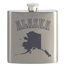 Alaska Map Design Flask