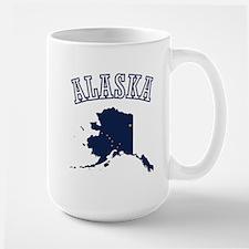 Alaska Map Design Mug