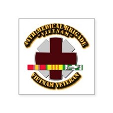 Army DUI - 44th Medical Bde w SVC Ribbons Square S