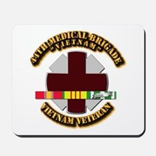 Army DUI - 44th Medical Bde w SVC Ribbons Mousepad