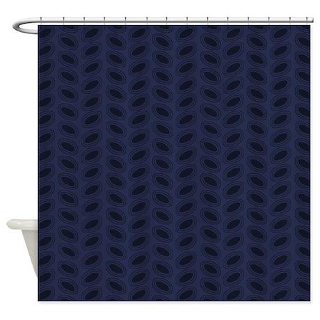 mod dark blue d1 shower curtain by marlodeedesignsshowercurtains. Black Bedroom Furniture Sets. Home Design Ideas