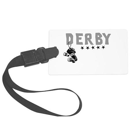 Cafepress derby design.png Luggage Tag
