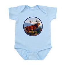 Bugling Elk Infant Bodysuit