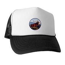 Bugling Elk Trucker Hat