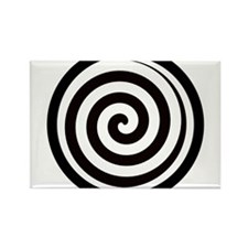 Hypnotic Zone Rectangle Magnet