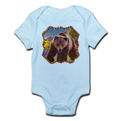 Grizzly Bear Territory Infant Bodysuit