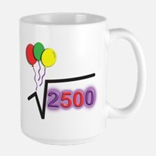Funny Math 50th Bday © Large Mug