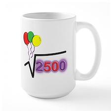 Funny Math 50th Bday © Mug