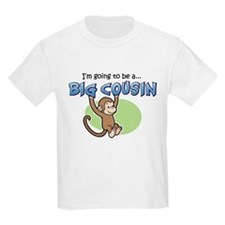 Big Cousin to be (Monkey) T-Shirt