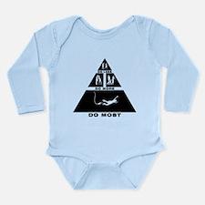 Bungee Jumping Long Sleeve Infant Bodysuit
