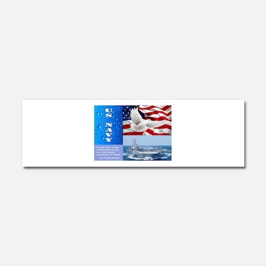 U.S. Navy Car Magnet 10 x 3