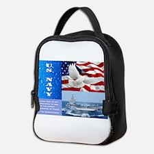 U.S. Navy Neoprene Lunch Bag