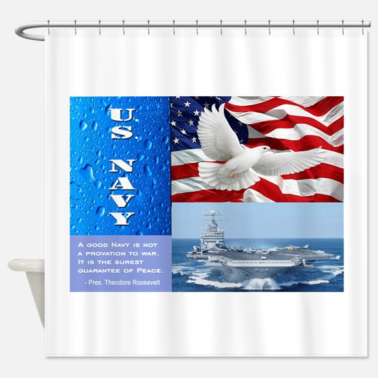 U.S. Navy Shower Curtain