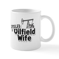Spoiled Oilfield Wife Mug