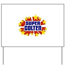 Colten the Super Hero Yard Sign