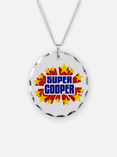Cooper the Super Hero Necklace