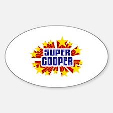 Cooper the Super Hero Decal