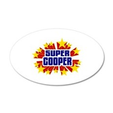 Cooper the Super Hero Wall Decal