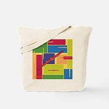 Oboe Colorblocks Tote Bag