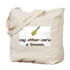 my other car's a broom Tote Bag