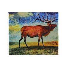 Elk Throw Blanket