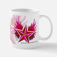 pink star Mug