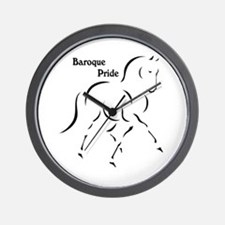 Baroque Pride Wall Clock