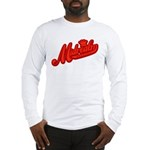 Midrealm Red Retro Long Sleeve T-Shirt