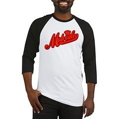 Midrealm Red Retro Baseball Jersey