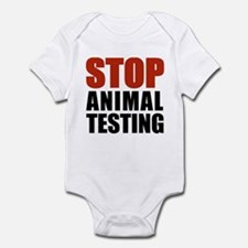 Stop Animal Testing Infant Bodysuit