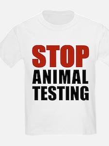 Stop Animal Testing Kids T-Shirt