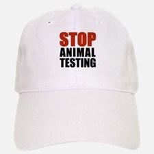 Stop Animal Testing Baseball Baseball Cap