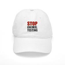Stop Animal Testing Baseball Cap