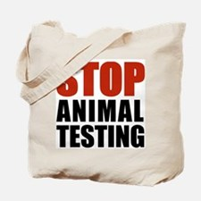Stop Animal Testing Tote Bag