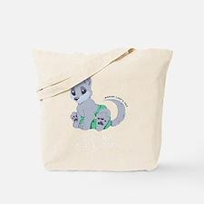My cub wears cloth 2 (white) Tote Bag
