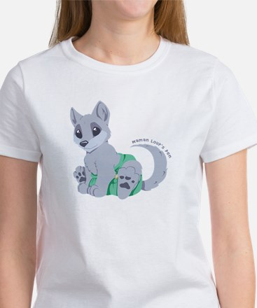 My cub wears cloth 2 (white) T-Shirt