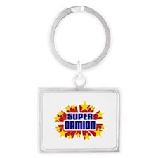 Damion the Super Hero Keychains